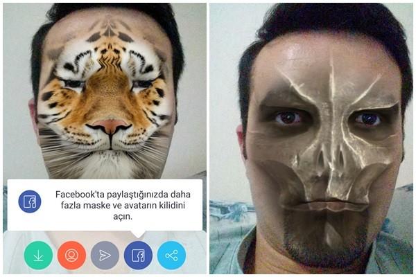 tango indir maske özelliği