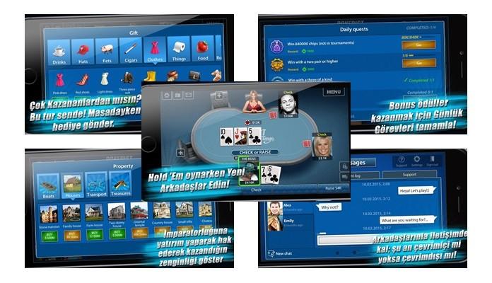 Pokerist For Tango oyununun ekran görüntülerini görebilirsiniz. Oyun hakkında daha iyi fikir sahibi olabilirsiniz.