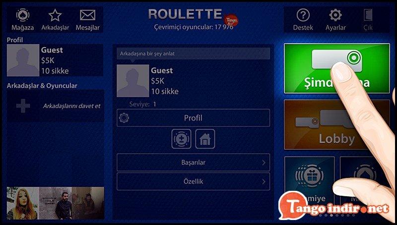 Roulette for Tango ekran resimleri 2