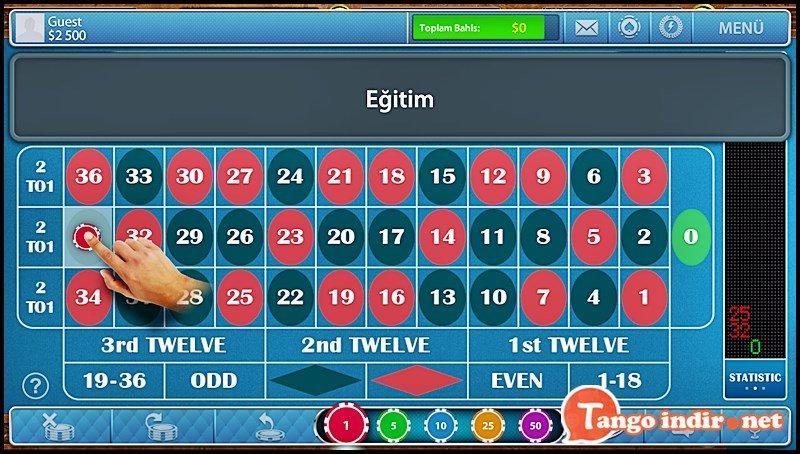 Roulette for Tango ekran resimleri 3